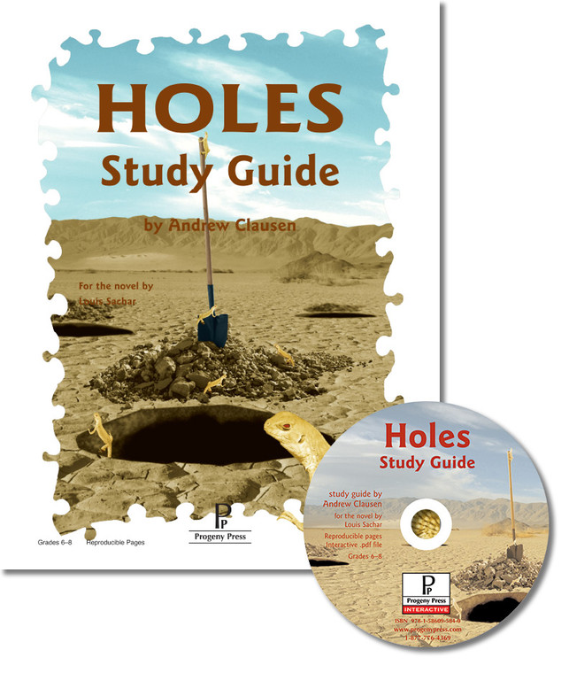 Holes unit study guide for literature, from a Christian perspective