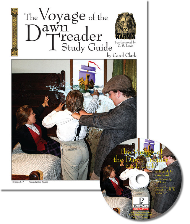 Voyage of the Dawn Treader unit study guide for literature, from a Christian perspective