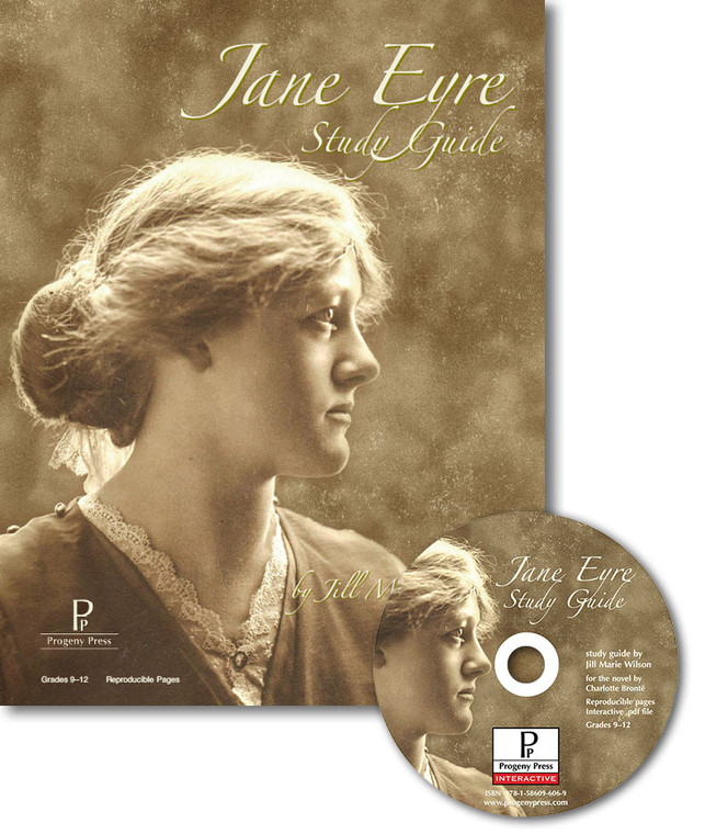 Jane Eyre Study Guide unit studyguide lesson plans for literature and reading from a Christian worldview with Biblical integration. Teacher resource curriculum, hands on ideas, projects, worksheets, comprehension questions, and activities, F. Scott Fitzgerald