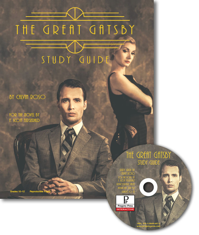 The Great Gatsby by F. Scott Fitzgerald unit study guide lesson plans for literature and reading from a Christian worldview with Biblical integration. Teacher resource curriculum, hands on ideas, projects, worksheets, comprehension questions, and activities.