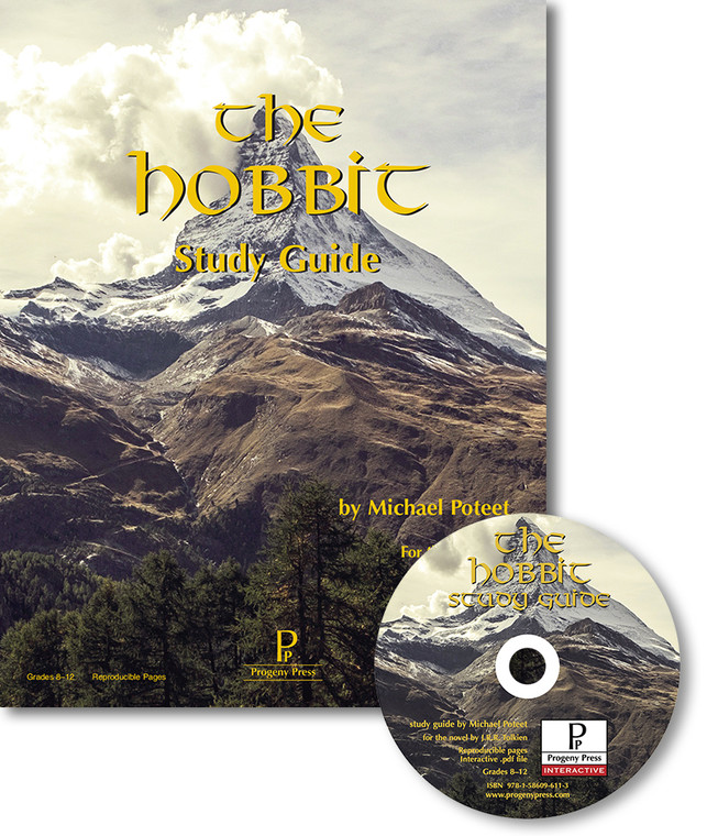 The Hobbit Study Guide unit studyguide lesson plans for literature and reading from a Christian worldview with Biblical integration. Teacher resource curriculum, hands on ideas, projects, worksheets, comprehension questions, and activities.