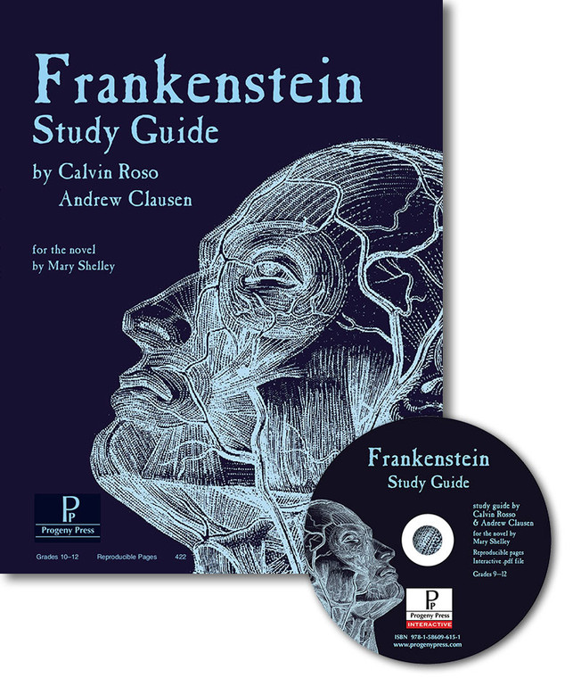 Frankenstein unit study guide for literature, from a Christian perspective