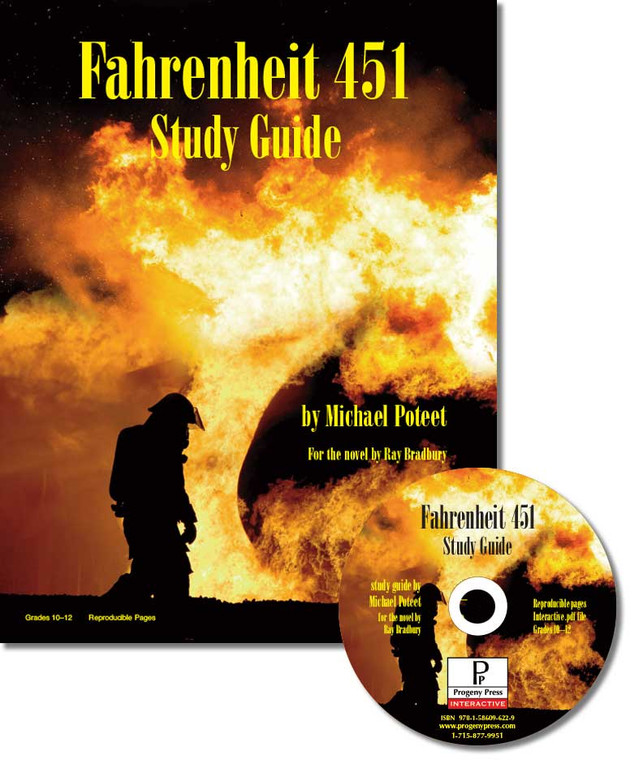 Fahrenheit 451 Study Guide unit study guide lesson plans for literature and reading from a Christian worldview with Biblical integration. Teacher resource curriculum, hands on ideas, projects, worksheets, comprehension questions, and activities. Bradbury