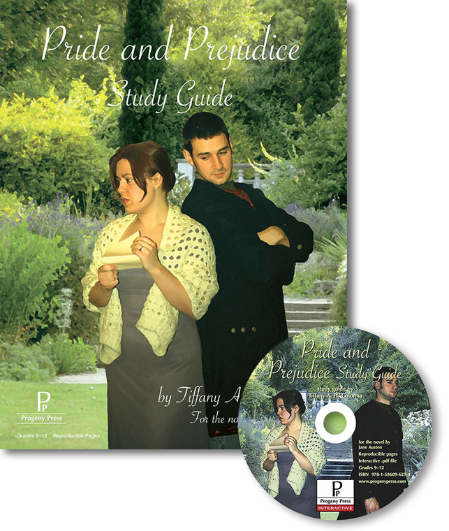 Pride and Prejudice Study Guide unit study guide lesson plans for literature and reading from a Christian worldview with Biblical integration. Teacher resource curriculum, hands on ideas, projects, worksheets, comprehension questions, and activities.