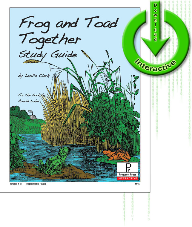 Frog and Toad Together unit study guide for literature, from a Christian Perspective