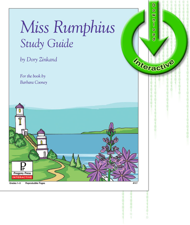 Miss Rumphius unit study guide for literature, from a Christian Perspective