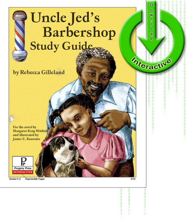 Uncle Jed's Barbershop unit study guide for literature, from a Christian Perspective
