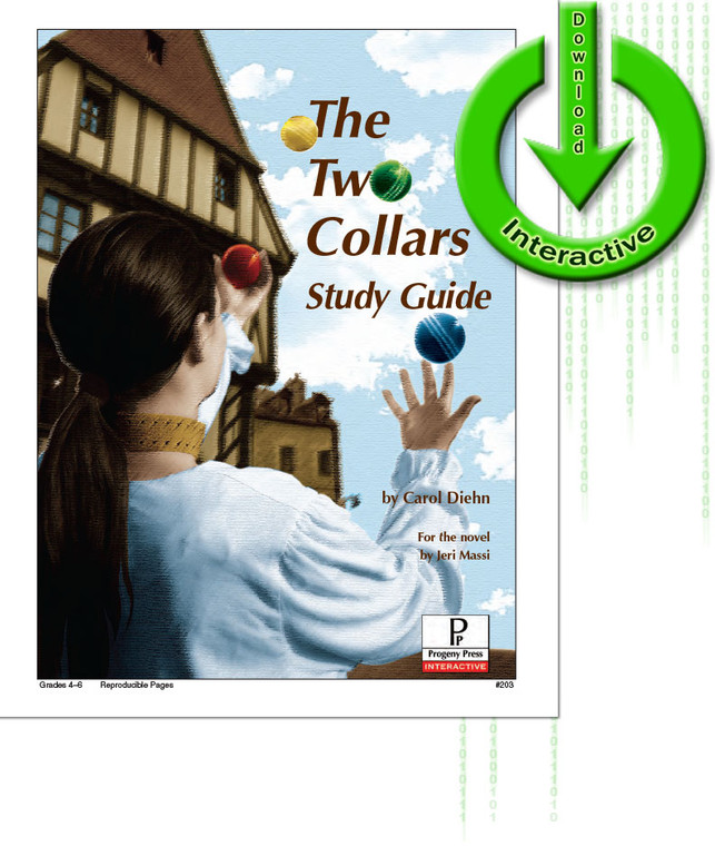 The Two Collars unit study guide for literature, from a christian perspective