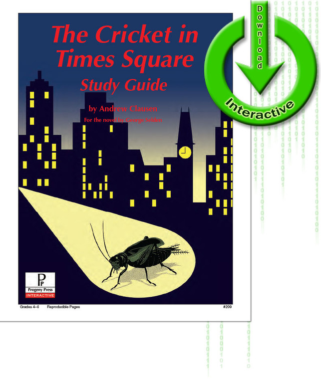 The Cricket in Times Square unit study guide for literature, from a Christian perspective