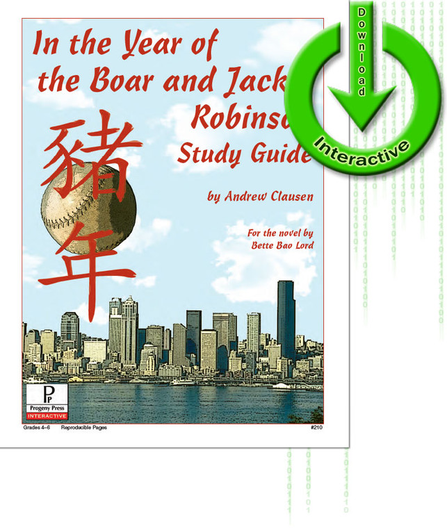 In the Year of the Boar and Jackie Robinson unit study guide for literature, from a Christian perspective