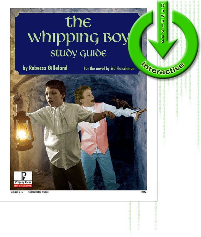 Whipping Boy unit study guide for literature, from a Christian perspective