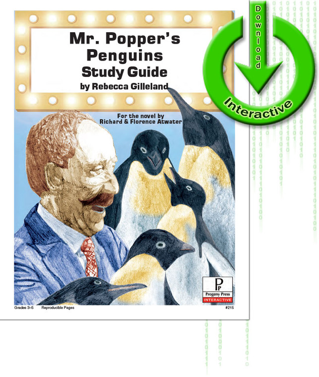 Mr. Popper's Penguins unit study guide for literature, from a Christian perspective