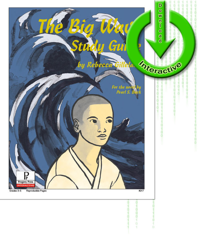 The Big Wave unit study guide for literature, from a Christian perspective