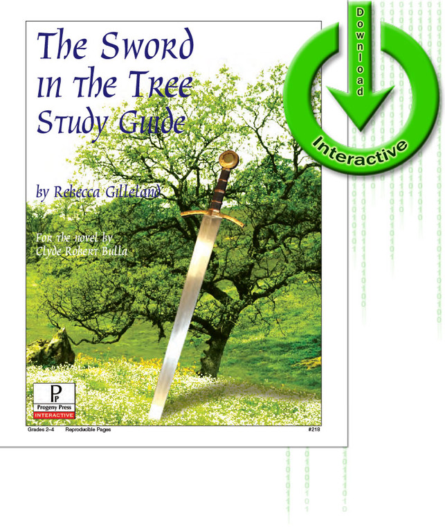 The Sword in the Tree unit study guide for literature, from a Christian perspective