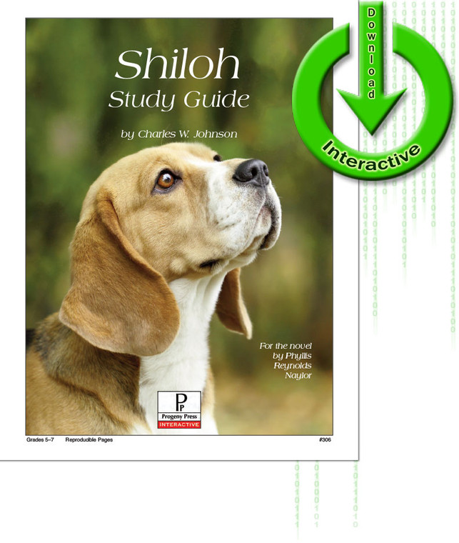 Shiloh unit study guide for literature, from a Christian perspective