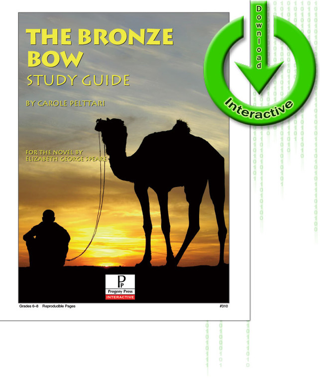 The Bronze Bow unit study guide for literature, from a Christian perspective