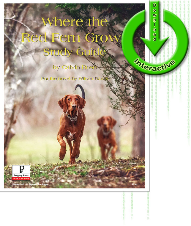 Where the Red Fern Grows unit study guide for literature, from a Christian perspective