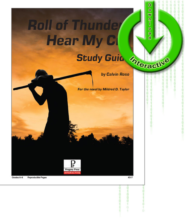 Roll of Thunder, Hear My Cry unit study guide for literature, from a Christian perspective