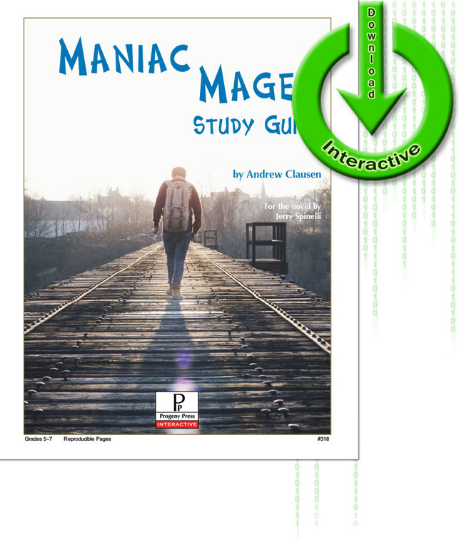 Maniac Magee unit study guide for literature, from a Christian perspective
