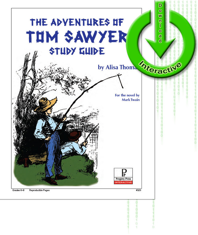The Adventures of Tom Sawyer unit study guide for literature, from a Christian perspective