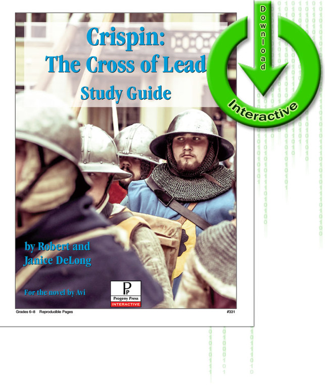 Crispin Cross of Lead unit study guide for literature, from a Christian perspective