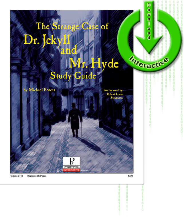 The Strange Case of Dr. Jekyll and Mr. Hyde Study Guide unit studyguide lesson plans for literature and reading from a Christian worldview with Biblical integration. Teacher resource curriculum, hands on ideas, projects, worksheets, comprehension questions, and activities.