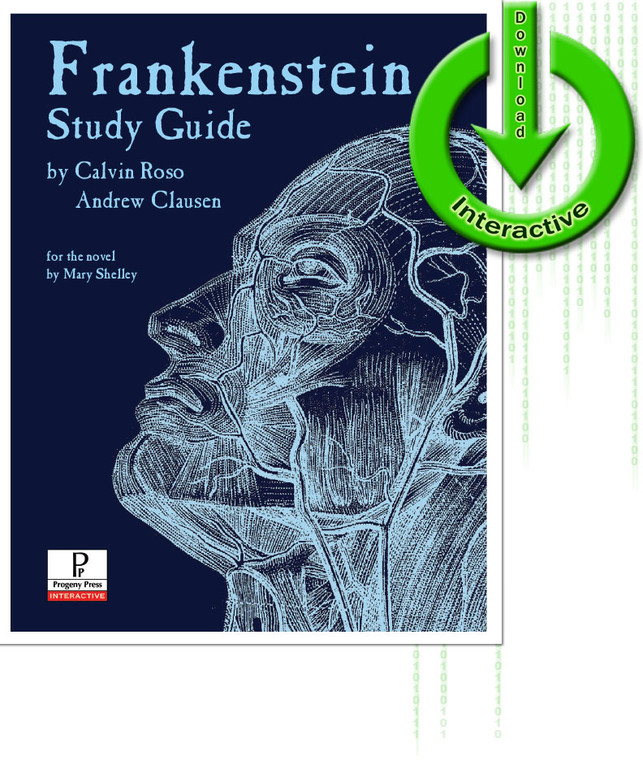 Frankenstein Study Guide unit studyguide lesson plans for literature and reading from a Christian worldview with Biblical integration. Teacher resource curriculum, hands on ideas, projects, worksheets, comprehension questions, and activities.