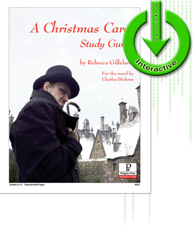 A Christmas Carol unit study guide for literature, from a Christian perspective