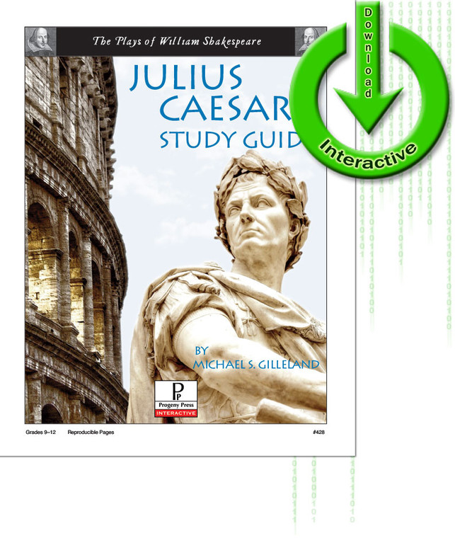 Julius Caesar Study Guide unit study guide lesson plans for literature and reading from a Christian worldview with Biblical integration. Teacher resource curriculum, hands on ideas, projects, worksheets, comprehension questions, and activities.	Download