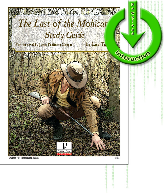 Last of the Mohicans Study Guide unit study guide lesson plans for literature and reading from a Christian worldview with Biblical integration. Teacher resource curriculum, hands on ideas, projects, worksheets, comprehension questions, and activities. Download.