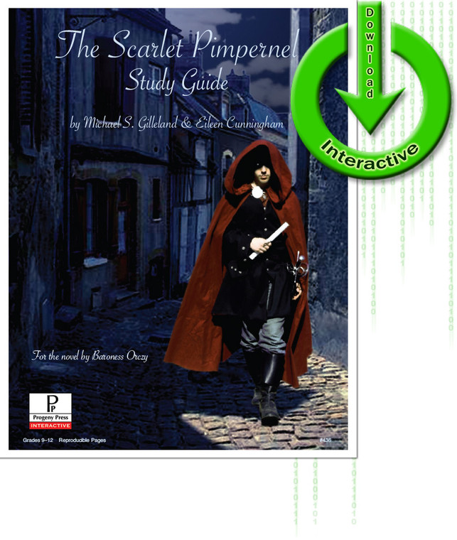 Scarlet Pimpernel Study Guide unit study guide lesson plans for literature and reading from a Christian worldview with Biblical integration. Teacher resource curriculum, hands on ideas, projects, worksheets, comprehension questions, and activities. Download