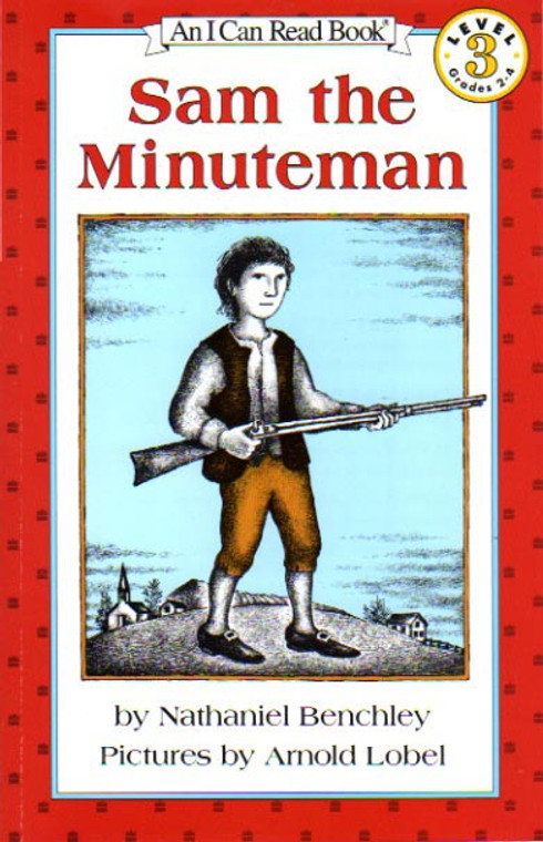 Sam the Minuteman story book novel I can Read lvl 3