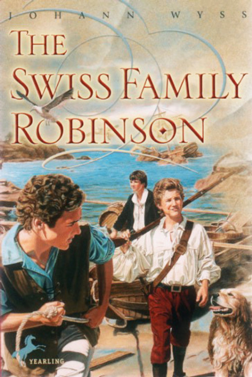 The Swiss Family Robinson literature story book