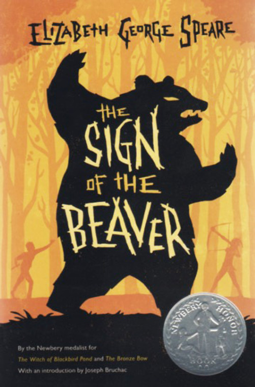The Sign of the Beaver story book novel