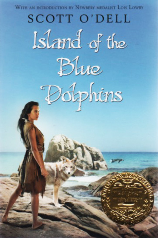 Island of the Blue Dolphins story book novel