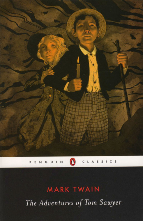 Adventures of Tom Sawyer, Mark Twain, book, novel, Penguin Classics
