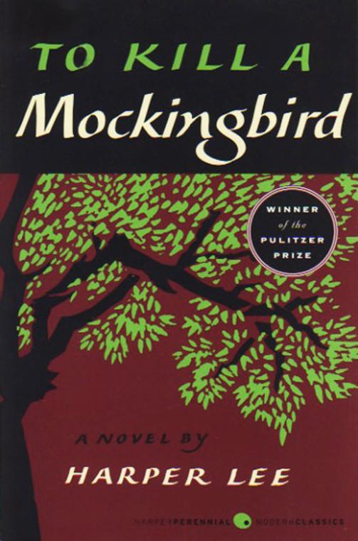 To Kill a Mockingbird book novel by Harper Lee. Harper Perennial Modern Classics.