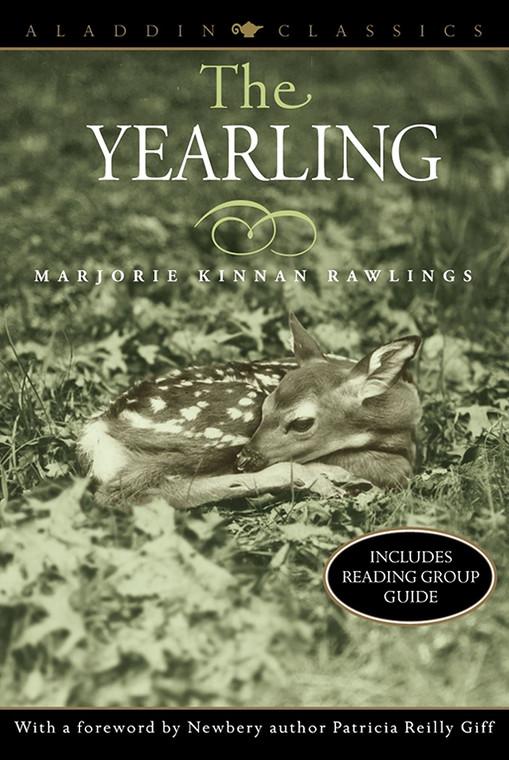 The Yearling book novel by Marjorie Kinnan Rawlings, Aladdin Classics
