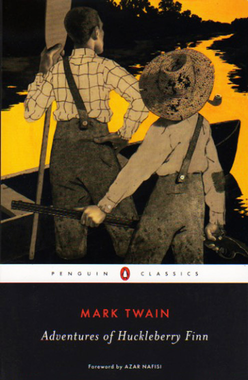 The Adventures of Huckleberry Finn book novel by Mark Twain, Penguin Classics