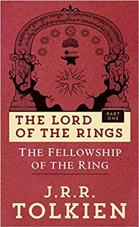 The Lord of the Rings: The Fellowship of the Ring book novel, Del Rey books