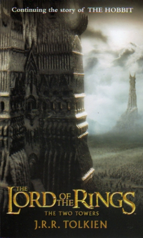 The Lord of the Rings: The Two Towers by Tolkien, book novel, Del Rey