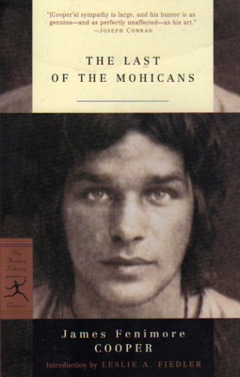 The Last of the Mohicans story book novel