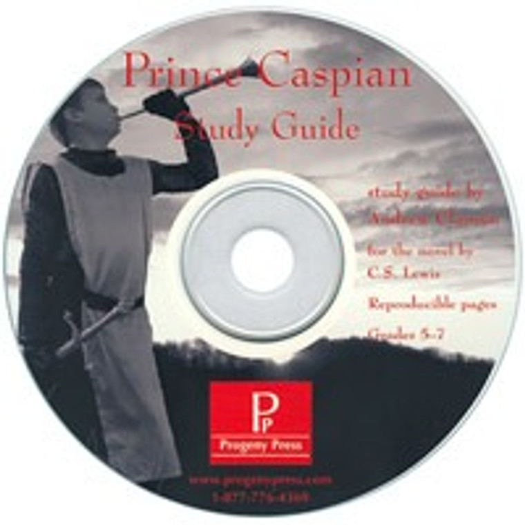 Prince Caspian Progeny Press unit study guide lesson plans for literature and reading from a Christian perspective