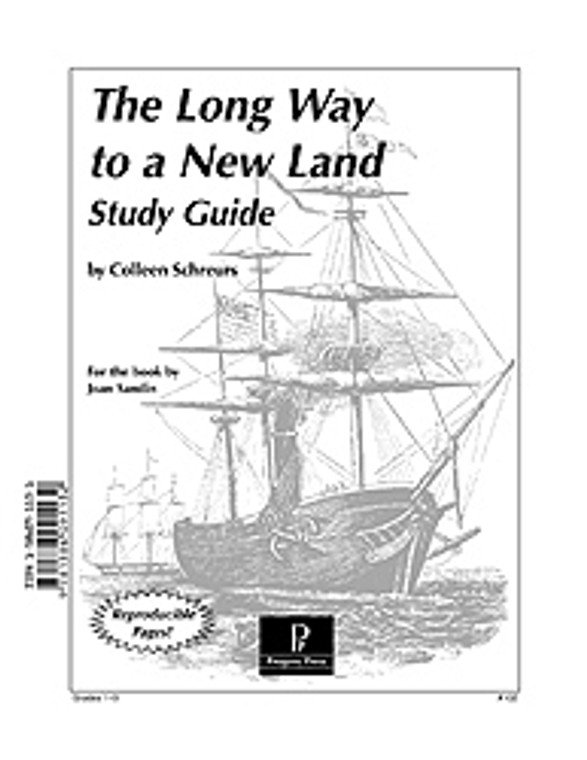 The Long Way to a New Land unit study guide lesson plans for literature and reading from a Christian worldview with Biblical integration. Teacher resource curriculum, hands on ideas, projects, worksheets, comprehension questions, and activities.