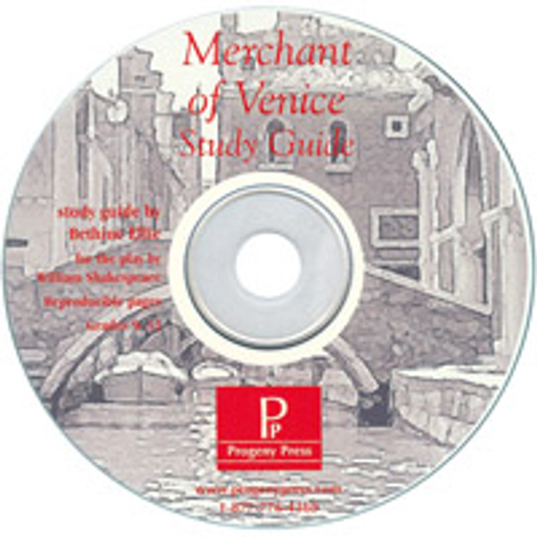 The Merchant of Venice unit study guide lesson plans for literature and reading from a Christian worldview with Biblical integration. Teacher resource curriculum, hands on ideas, projects, worksheets, comprehension questions, and activities.