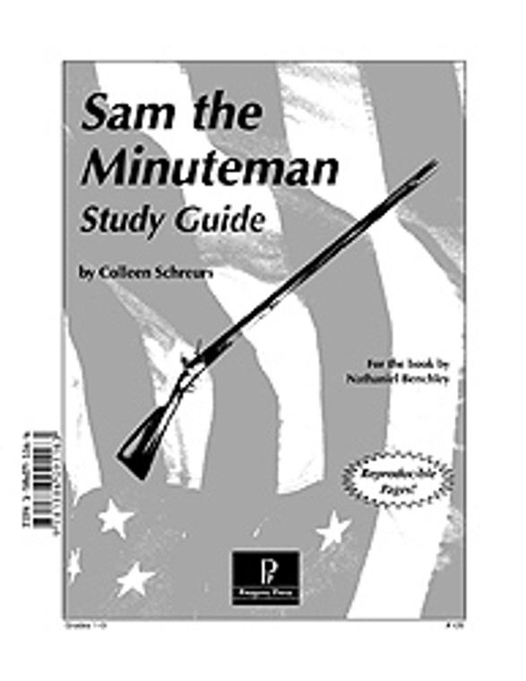 Sam the Minuteman Progeny Press unit study guide lesson plans for literature and reading from a Christian worldview with Biblical integration