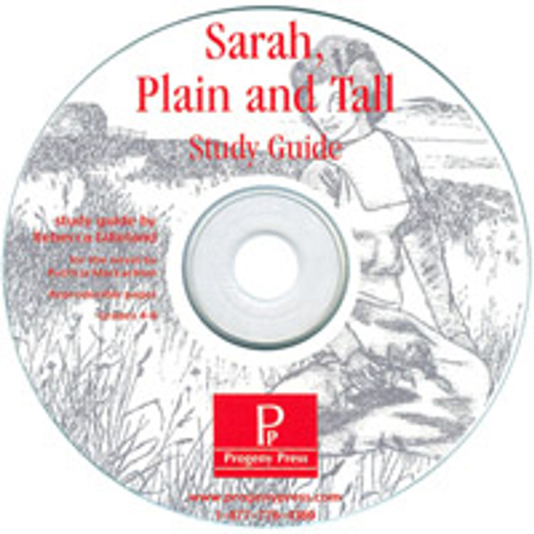 Sarah, Plain and Tall Progeny Press Study Guide CD PRINT ONLY