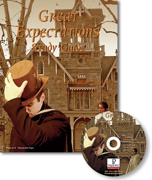Great Expectations Study Guide unit study guide lesson plans for literature and reading from a Christian worldview with Biblical integration. Teacher resource curriculum, hands on ideas, projects, worksheets, comprehension questions, and activities.
