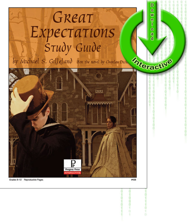 Great Expectations Study Guide unit study guide lesson plans for literature and reading from a Christian worldview with Biblical integration. Teacher resource curriculum, hands on ideas, projects, worksheets, comprehension questions, and activities. Download.