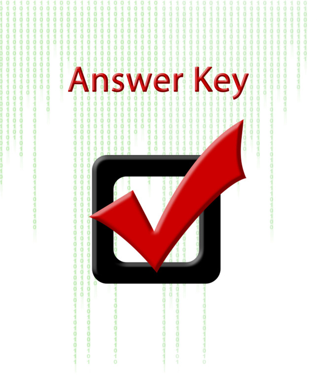 Replacement Answer Key